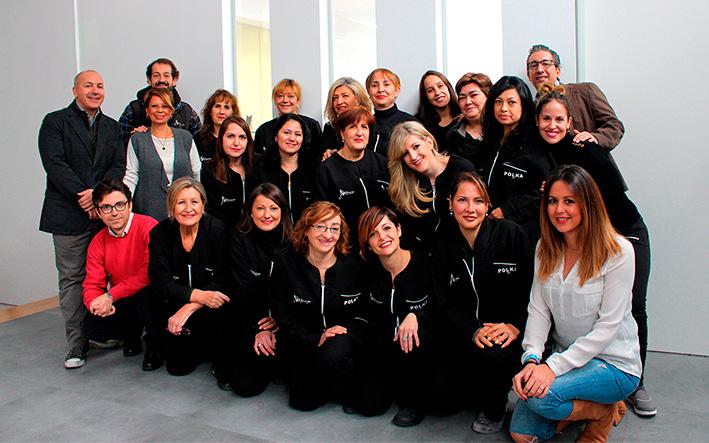 Equipo proyecto social Peluca Solidaria